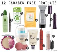 Parabens are frequently used as preservatives to prevent microbial growth and increase the shelf life of an estimated cosmetic and skin care products. (Scheve, Most of us apply parabens to our skins and perhaps even consume them daily. Healthy Beauty, Clean Beauty, Diy Beauty, Health And Beauty, Organic Makeup, Organic Skin Care, Natural Makeup, Paraben Free Makeup, Personal Hygiene