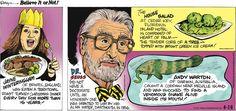 Ripley's Believe It or Not by John Graziano for Apr 16, 2017   Read Comic Strips at GoComics.com