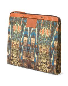 Printed Bankers Clutch