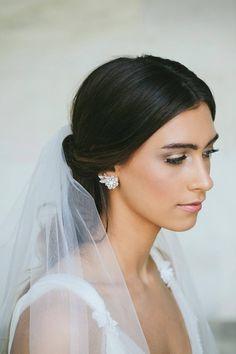 Earrings for a bride