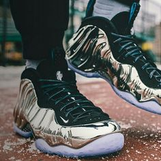 Chrome Foams releasing for the 2015 NBA All-Star.  Full info on how to purchase a pair available on solecollector.com now
