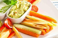 Warzywne paski z aromatycznymi dipami #smacznastrona #omnomnom #food #vege #healthy