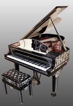 Custom Piano - Tribute to Coco Chanel