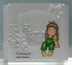 From My Craft Room: I'm Dreaming of a White Christmas
