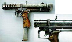 "Experimental Lithuanian ""Vladas"" M1992 machine pistol"