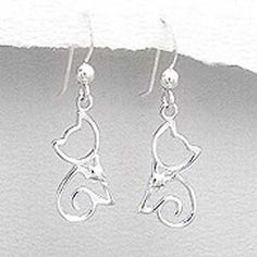 "925 Sterling Silver Kitty Cat Dangle Earrings Fashion Jewelry for Women, Teens, Girls - Nickel Free inBLISS. $19.99. See more of our Girls and Ladies earrings collection. Please search Amazon for ""INBLISS"". Guaranteed .925 Solid Sterling Silver. ** FREE JEWELRY BOX **. Size: 32mm x 10mm. Perfect gift for Girls, Teenagers and ladies"