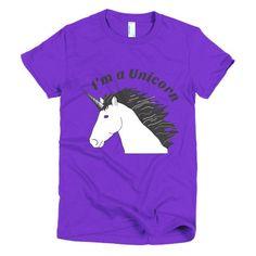Women's I'm a Unicorn T-shirt
