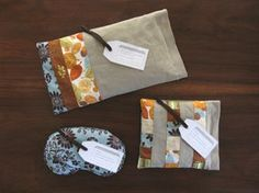 Homemade Rice Heat Therapy Bag, Freezer Pack, and Eye Pack.  This website has tons of other great ideas!