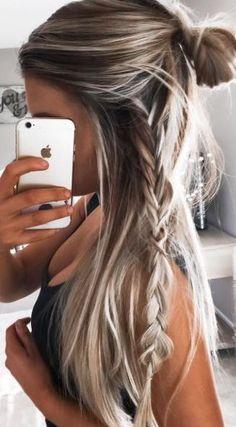6 glamorous ideas for long hair