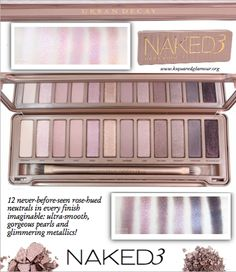 This is probably the best eye palette ever made, I love it so much!!!!