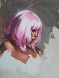 Cool Art Drawings, Art Drawings Sketches, Guache, Painting & Drawing, Oil Painting Portraits, Art Paintings, Paintings Famous, Modern Paintings, Painting Tattoo