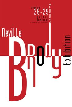 Neville Brody exhibition by matcha on DeviantArt