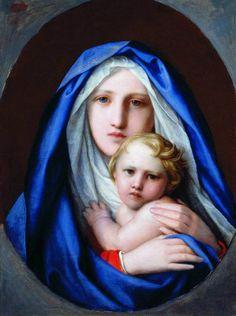Nuestra Señora y el Niño Jesus