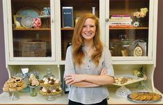 """""""Pastry Shop Opens in Royal Oak"""" - article featuring Love & Buttercream from French Pastry School graduate, Brooke Wilson."""
