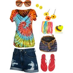 Hippy Summer Outfit, created by maidarc on Polyvore
