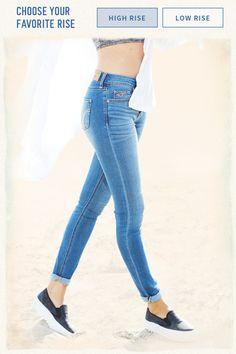 Girls Jeans Jeans & Bottoms | HollisterCo.com