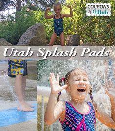 Huge list of Utah Splash Pads - Coupons4Utah