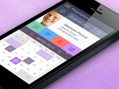 ios7 iPhone App Design | UI,UX interface by Gaspard A (Paris / Montpellier)