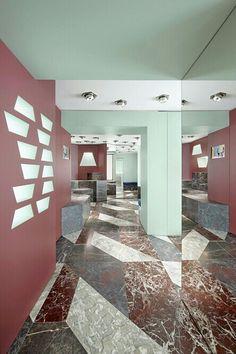 Marble, perspective - Balenciaga store