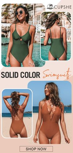 Simple but chic! Swimsuits, Bikinis, Swimwear, Enhancement Pills, Summer Chic, Beach Ready, Cut And Color, Sunnies, New Look