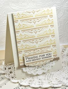 Praying For You Card by Dawn McVey for Papertrey Ink (August 2013)