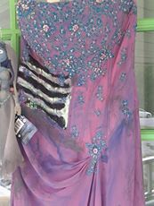 HandMade Corpse Bride Gown Sz l 36c must see by OhhLaLaCoolStuff, $250.00