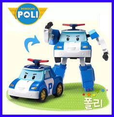 "Robocar Poli Transformable ""Poli"" / Academy"