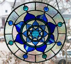Stained glass mandala