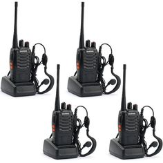 BAOFENG BF-888S Walkie Talkie with Built in LED Torch (Pack of 4) -- Visit the image link more details.