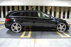 Full Mercedes air ride suspension | Lowered via adjustable air ride links