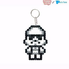 Stormtrooper Star Wars hama beads by magicoldie