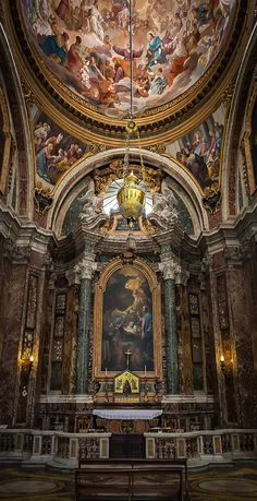 Sacripante Chapel, Church of St. Ignatius of Loyola, Rome.