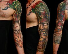 amazing hannya tattoo