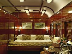 These are images of Rovos Rail Train Coaches from the interior and exterior, as well as when occupied by individuals. Rail Train, Train Car, Train Travel, Train Rides, Orient Express Train, Chutes Victoria, Comfortable Couch, Le Cap, Blue Train
