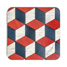 4 Coasters Retro Coasters Art Deco Coasters Stocking Filler Stocking... (€18) ❤ liked on Polyvore featuring home, kitchen & dining and bar tools