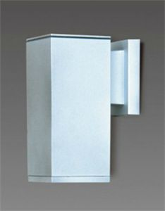 Northern Lighting Online Shop. Maxi 2 Exterior Square Single Fixed Wall Light (SE7033) Sunny Lighting Silver $84.50