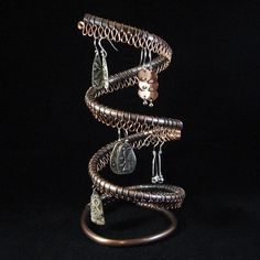Copper pipe and tubing on pinterest 100 pins for Copper pipe jewelry stand