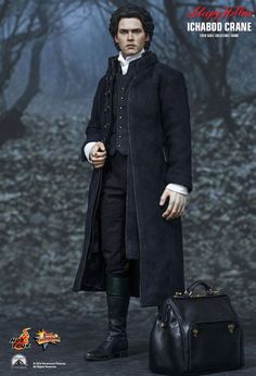 Sleepy Hollow - Ichabod Crane 1/6th Scale Hot Toys Action Figure NEW IN BOX #HotToys