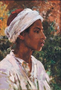 Marie Aimee Lucas Robiquet- Young Tunissian boy