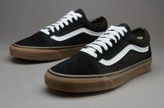 Vans Old Skool (Gumsole) - Black / Medium Gum