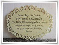 Galeria Mimos e Artes: Quadro oração do Santo Anjo - 143