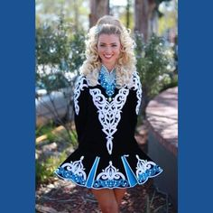 So happy with how my dress turned out!A Doire Dress Designs Irish Dance Solo Dress Costume
