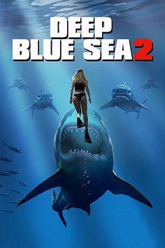 Deep Blue Sea 2 (2018) 720p BRRip 850MB Downloadmania.xyz