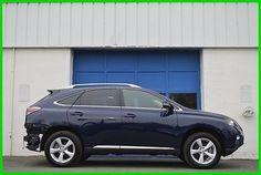 eBay: 2012 Lexus RX -- 2012 Lexus RX 350 Salvage Rebuildable ...