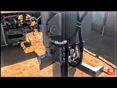 Hydraulic log splitter for tractors. Log Splitter, Wood, Youtube, Woodwind Instrument, Timber Wood, Trees, Youtubers, Youtube Movies