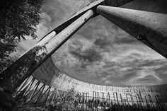 Unfinished nuclear reactor cooling tower (3) - Chernobyl, Ukraine - May 2012