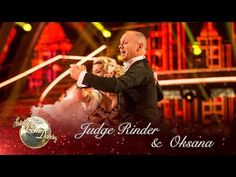 Judge Rinder & Oksana Platero Quickstep to 'It Don't Mean A Thing' - Strictly 2016: Week 7 - YouTube