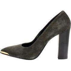Le kaki va à merveille à vous tous !  89,99€  Les escarpins sont là : http://stylefru.it/s320980 #kakiiii