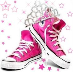 chucks and a tiara ♥ #JulepColorChallenge