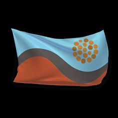 Australian flag proposal _ Rainbow Serpent  flag _ Andrew Ashton (2016)
